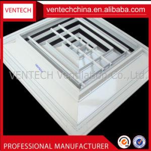 Verspreider van het Plafond van de Lucht van de Levering van het Aluminium van de Leveranciers van China de Vierkante