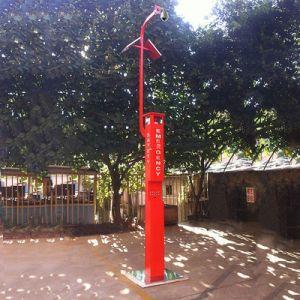 公園Sosの電話非常電話タワー屋外の太陽タワーの電話