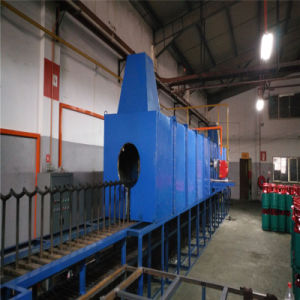 LPG 33kg 실린더를 위한 정상화하는 열처리 로