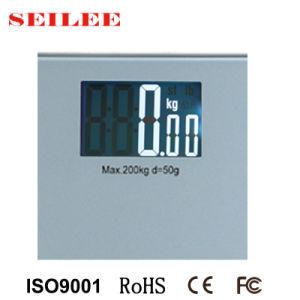 Grand écran LCD écran 88x55mm numérique ultraplat échelle personnelle pour salle de bains