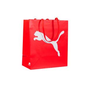 Logo d'impression personnalisé recyclé Papier de cadeau sacs (YH-PGB073)