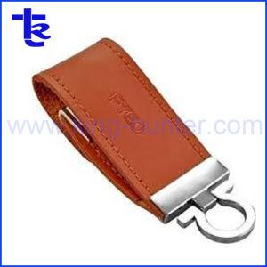 Cuero de alta velocidad de disco de memoria Flash USB para regalo