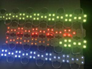 Exterior impermeable LED SMD5050 Módulo píxel luz con 3 chips