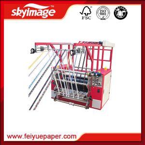 리본 고속 인쇄를 위한 회전하는 열 압박 기계 80*120cm