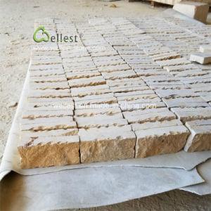 A dégringolé de terminer le revêtement de mur extérieur beige calcaire Tile