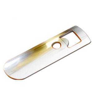カスタム銀または金または銅の城の柔らかいエナメルの金属のワイン・ボトルのオープナ(010)