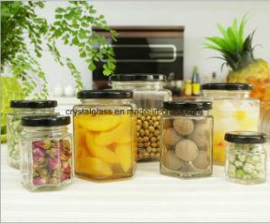 Heißer Verkaufs-Honig dichtete Speicherstau-Glas mit Metallschutzkappe