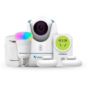 WiFi RF ZigbeeのプロトコルCCTV IPのカメラで構築されるスマートなホームキット