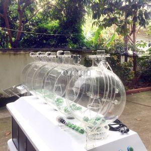 高品質の多シリンダー空気球リターン機能の吹く宝くじ機械