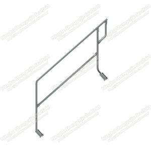 Guardavia di alluminio HDG della scala della piattaforma che galvanizza per l'impalcatura di Ringlock