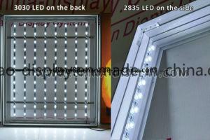 アルミニウムフレームLEDファブリックライトボックスの広告