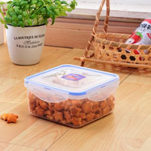 Square imbriqués Space-Saving jeu 4 Clip de verrouillage de conteneur en plastique
