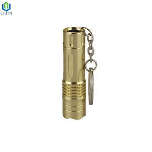 Dom Promoção lanterna LED 3 com porta-chaves