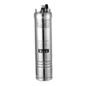 Submersible Pump Oil Immersion Type of Stainless Steel Multi - Stage Deep Well. Water Pump