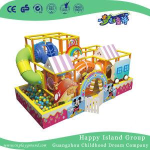 De binnen Apparatuur van de Speelplaats met Zacht Spel voor Jonge geitjes (hd-8201)