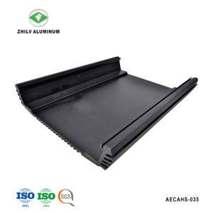 Perfil de aluminio para el alquiler de equipos de audio del radiador con mecanizado CNC anodizado &