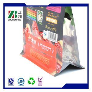 Levántate Ziplock de plástico envases de alimentos bolsa con cremallera resellables