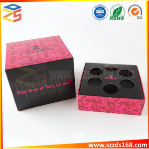 赤い折る装飾的な製品のギフト一定の包装ボックス