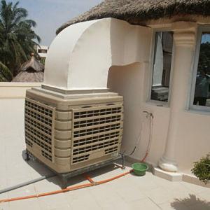 380 напряжение 1 скорость промышленного охладителя нагнетаемого воздуха при испарении с ЖК-дисплеем