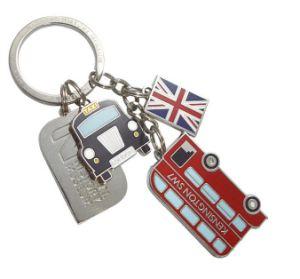 Lodon 여행자 기념품 금속 열쇠 고리