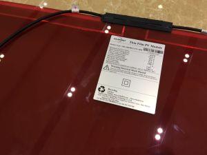 Panneau solaire Film mince BIPV avec 40 % de la transparence 48W