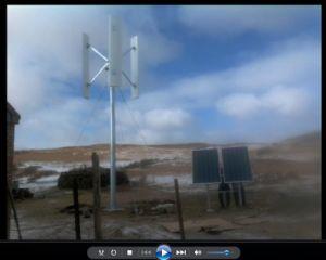Vento Híbrido 50kw Sistema de Energia Solar