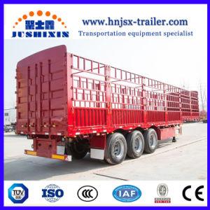 中国の熱い半販売の高品質のGooseneckの塀の貨物輸送の棒のトレーラー