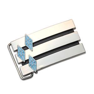 Оптовая торговля дешевые Custom металлические моды ремень привода вспомогательного оборудования мужская металлический замок ремня безопасности