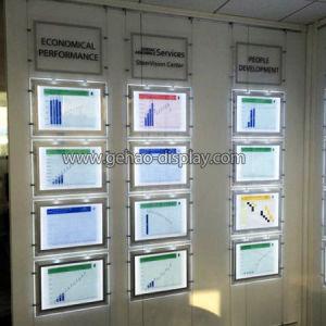 A3 horizontal / vertical LED pantalla colgante