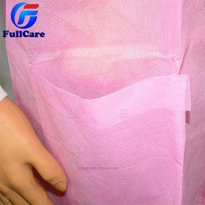 Vestito non tessuto a gettare del lavoro di laboratorio, cappotto chirurgico del laboratorio del chirurgo medico sterile dell'ospedale dell'ospite dell'esame del dottore Dental Patient Operation Protective del PE pp di SMS