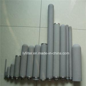 De dubbele Patroon van de Filter van het Titanium van het Open Eind Poreuze Gesinterde voor de Behandeling van het Water