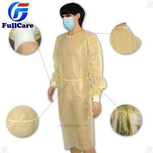 Nichtgewebte sterile verstärkte Besucher-Wegwerflokalisierung medizinisch/Krankenhaus-Chirurg/chirurgisches/Doktor Dental/Patient/Geschäft/schützende/Prüfung-Kleidung