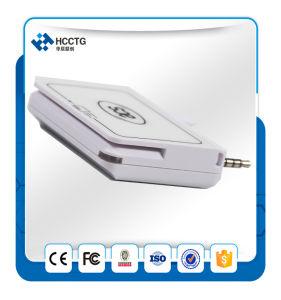 소형 ISO 7816 자석 줄무늬 지능적인 이동할 수 있는 카드 판독기 이동할 수 있는 POS ACR32