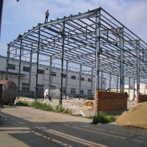 Taller de prefabricados de estructura de acero de la construcción de bastidor con alta resistencia