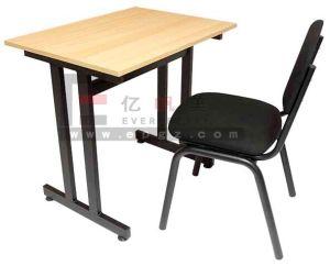 Bureau et chaise unique de contreplaqué collège ensembles de