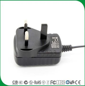 Ce BS сертифицированных UK 3 контактный выход постоянного тока 12 В 400Ма адаптер питания переменного тока