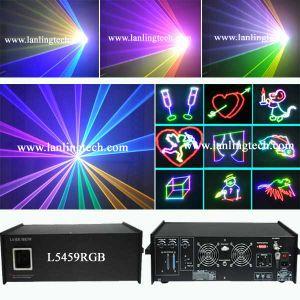 5000MW RGB анимации этапе лазера