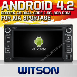 Witson Android 4.2 System Car DVD per KIA Sportage (W2-A7517)
