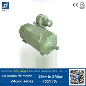Z4 DC eléctrica IP23 400V 89kw Motor del ventilador