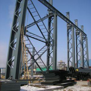 Prédio de aço estrutural modular do fornecedor profissional