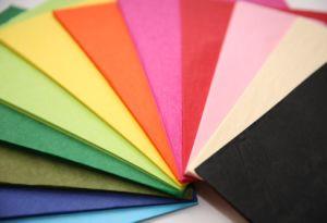 17GSM 백색 & 다채로운 Mf/Mg 조직 선물 포장지