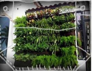 Verticale Tuin Zakken : Groen hang de zakken van de planter van de zak voor verticale tuin