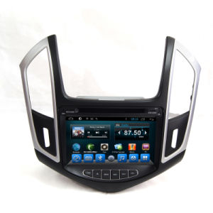 Dubbele GPS Navigation System van DIN voor Chevrolet Cruze 2014
