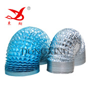 Flexibele Aluminum Duct Film voor Air Conditioning Pipe (AL 7/PET 12)