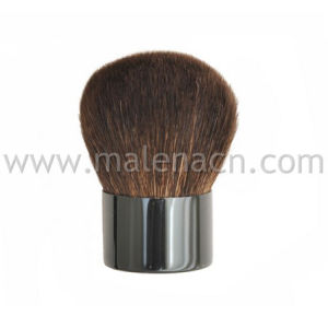 Petite brosse en poils naturels Kabuki