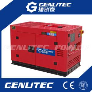 Resfriado a água 2 Cilindro 10kVA gerador diesel silenciosa (DE12000T)