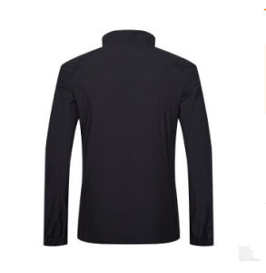 Breathable 달리기를 위한 100%년 폴리에스테 경량 방수 재킷