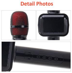 Ручной микрофон караоке с вспышка
