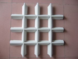 La Chine merveilleux de gros de matériaux de construction pour plafond de la grille en aluminium