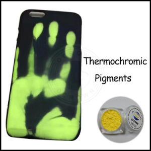 El calor de pigmento Thermochromic activado en polvo de pigmento térmico Cambio de color.